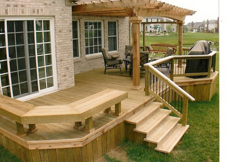 building an elevated deck free standing ground level deck plans elevated  deck plans plans modern design