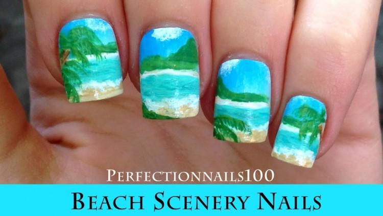 Astonishing nail designs virginia beach 3D Beach