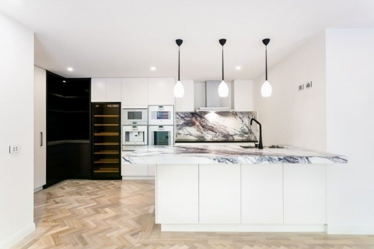 kitchen ideas with built in oven kitchen