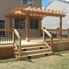 how to build a pergola on your deck