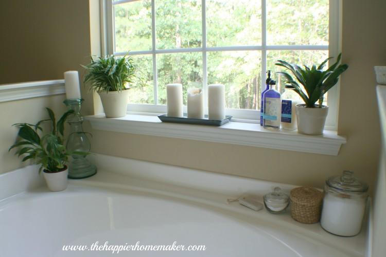 bathroom tub decorating ideas garden decor dream corner regarding backsplash