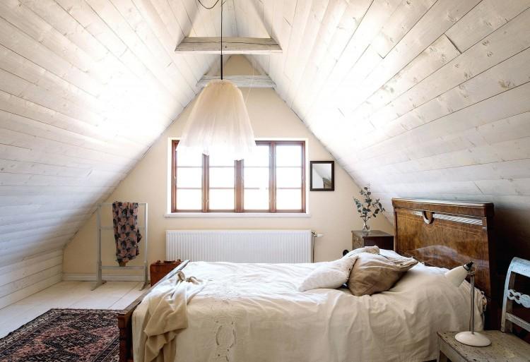 sloped ceiling bedroom ideas