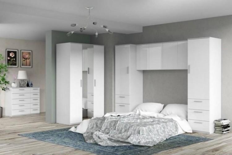 white bedroom set high gloss furniture grey ikea i