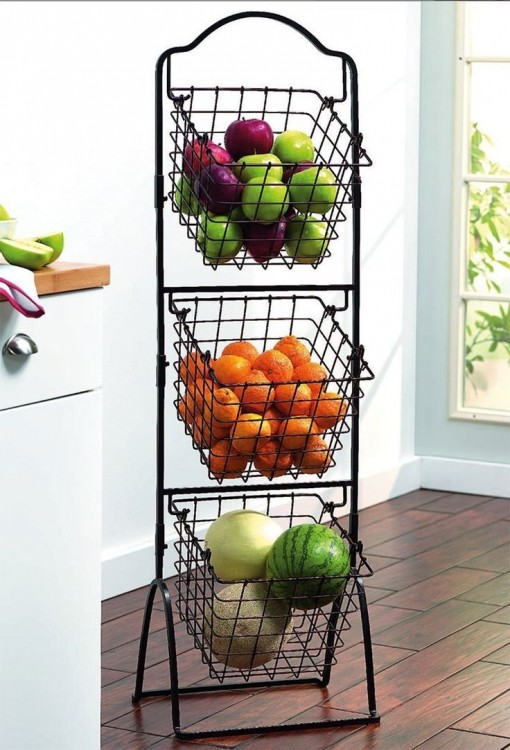 awesome hanging fruit basket ideas wall hanging fruit basket best baskets ideas on metal kitchen diy
