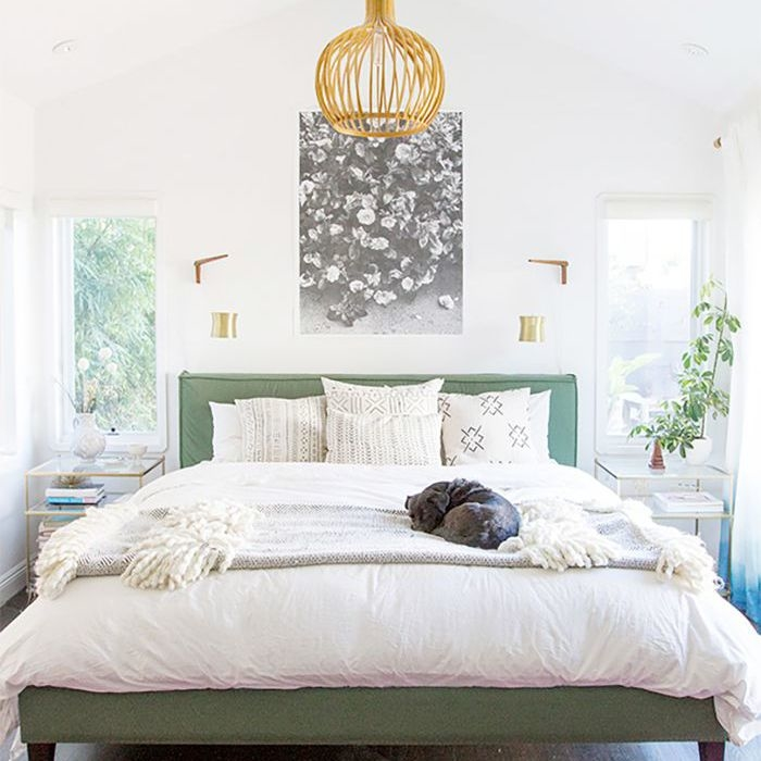 Headboards add to the overall look of the bedroom and choosing the right one can be crucial