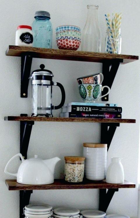 open shelving kitchen ideas the custom kitchen ideas with open shelving tips decorating ideas kitchen ideas